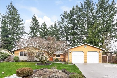 Kirkland Single Family Home For Sale: 13718 70th Ave NE