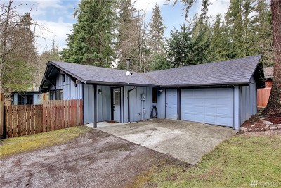 Bellingham WA Single Family Home For Sale: $267,500