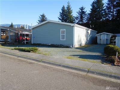 Sedro Woolley Mobile Home For Sale: 889 Carriage Ct #18