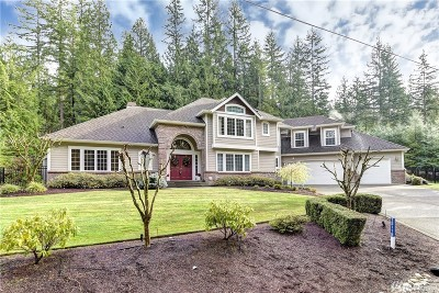 Issaquah Single Family Home For Sale: 15118 262nd Ave SE