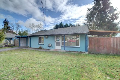 Mountlake Terrace Single Family Home For Sale: 5804 241st St SW
