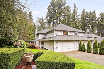 Redmond Single Family Home For Sale: 13302 NE 86th Place