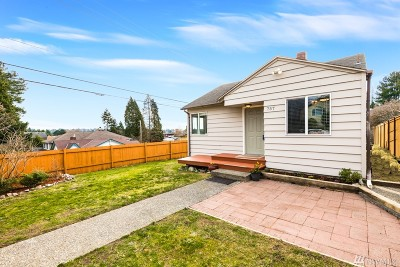 Seattle Single Family Home For Sale: 757 N 101st St