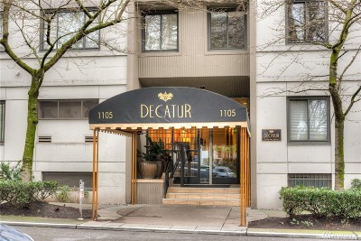 Seattle Condo/Townhouse For Sale: 1105 Spring St #1110