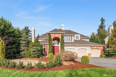 Sammamish Single Family Home For Sale: 20902 SE 2nd Place