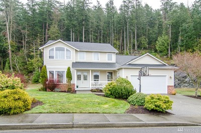 Anacortes Single Family Home For Sale: 4219 Marine Heights Wy