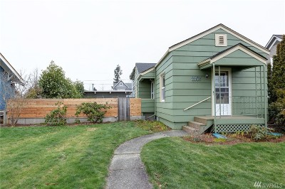 Bellingham Single Family Home For Sale: 2307 Henry St