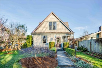 Bellingham Single Family Home For Sale: 2204 Utter St