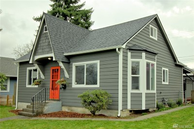 Tacoma Single Family Home For Sale: 406 S 57th St