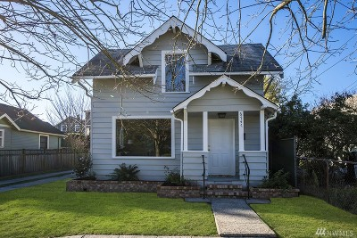 Seattle Single Family Home For Sale: 6747 23rd Ave NW