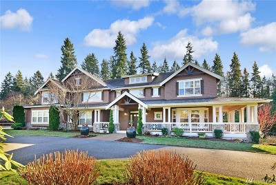 Woodinville Single Family Home For Sale: 13215 218th Ave NE