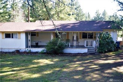 Single Family Home For Sale: 14848 Military Rd SE