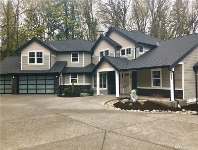 Pierce County Single Family Home For Sale: 587 Island Blvd