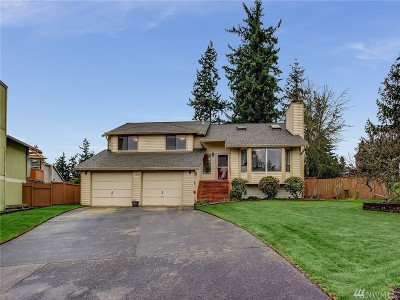 Auburn WA Single Family Home For Sale: $350,000