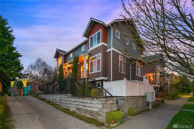 King County Single Family Home For Sale: 7415 6th Ave NW