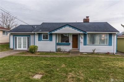 Oak Harbor Single Family Home For Sale: 346 SE Quaker St