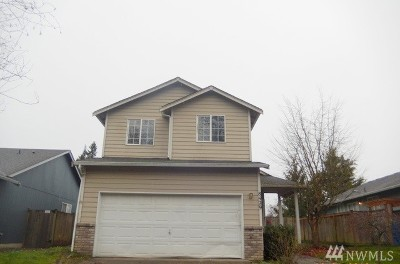 Puyallup WA Single Family Home For Sale: $242,000