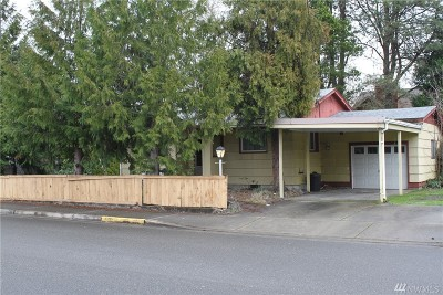 Puyallup Single Family Home For Sale: 711 7th St SE