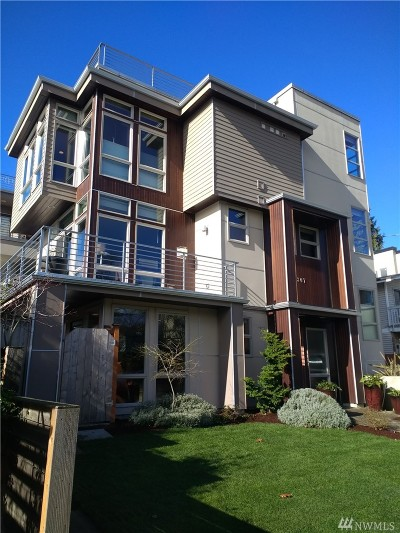 Seattle Single Family Home For Sale: 6307 26th Ave NW