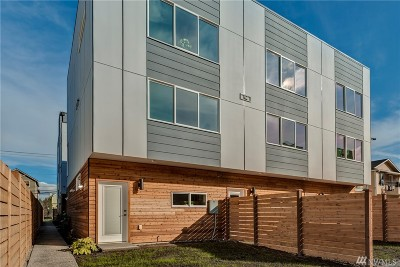 Seattle Single Family Home For Sale: 3309 Claremont Ave S #A