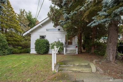 Seattle Single Family Home For Sale: 6010 Greenwood Ave N