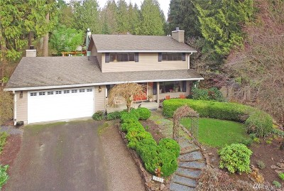 Woodinville Single Family Home For Sale: 19612 NE 162nd St