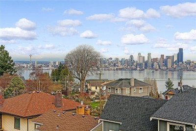 Seattle Single Family Home For Sale: 1714 California Ave SW
