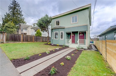 Seattle Single Family Home For Sale: 816 21st Ave