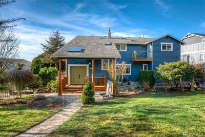 Seattle Single Family Home For Sale: 808 NW 125th St