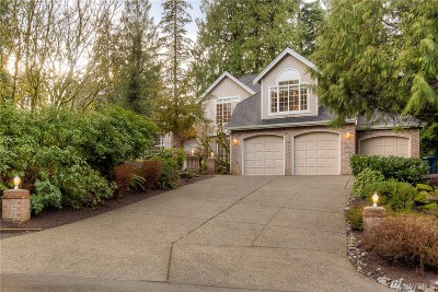 Issaquah Single Family Home For Sale: 14207 229th Dr SE