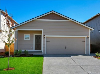 Spanaway Single Family Home For Sale: 1823 192nd St Ct E