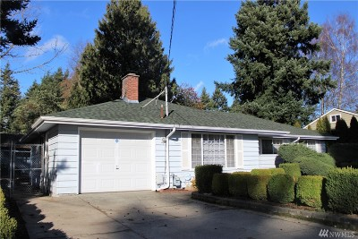 Seattle Single Family Home For Sale: 326 S 116th St