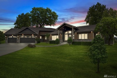 Eatonville Single Family Home For Sale: 162 Mountain Crest (Lot 7) Lane #Lot#7