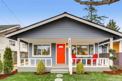Seattle Single Family Home For Sale: 8839 10th Ave SW