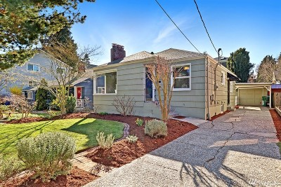 Seattle Single Family Home For Sale: 6845 23rd Ave NE