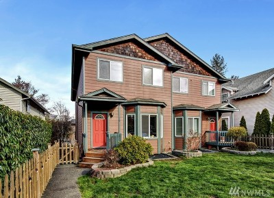 Whatcom County Condo/Townhouse Sold: 705 Donovan Ave #A