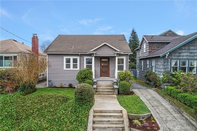 Seattle Single Family Home For Sale: 5218 37th Ave NE