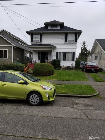 Seattle Single Family Home For Sale: 1522 25th Avenue