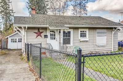 Puyallup Single Family Home For Sale: 516 4th St NW