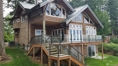 Lummi Island Single Family Home For Sale: 2231 N Nugent Rd