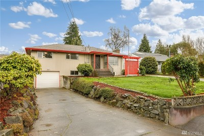 Seattle Single Family Home For Sale: 11826 9th Ave SW