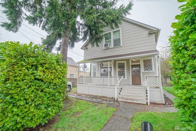Pierce County Single Family Home For Sale: 3807 N Gove St