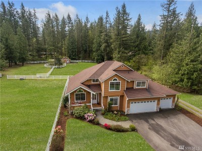 North Bend Single Family Home For Sale: 44719 SE Mt Si Road