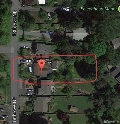 Shoreline Single Family Home For Sale: 19054 18th Ave NE