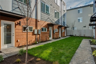 Seattle Single Family Home For Sale: 3311 Claremont Ave S #D