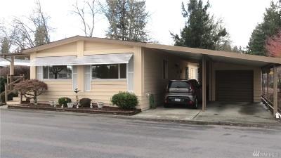 Auburn WA Mobile Home For Sale: $88,500