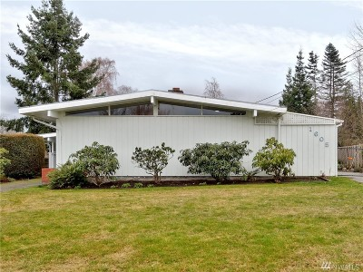 Skagit County Single Family Home For Sale: 1605 36th St