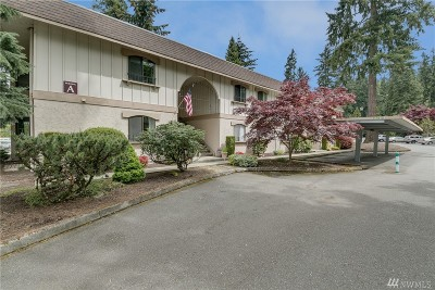 King County Condo/Townhouse For Sale: 12504 NE 117th Place #A7