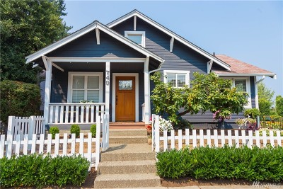 Kirkland Single Family Home For Sale: 749 State St S