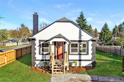 Seattle Single Family Home For Sale: 10702 19th Ave SW